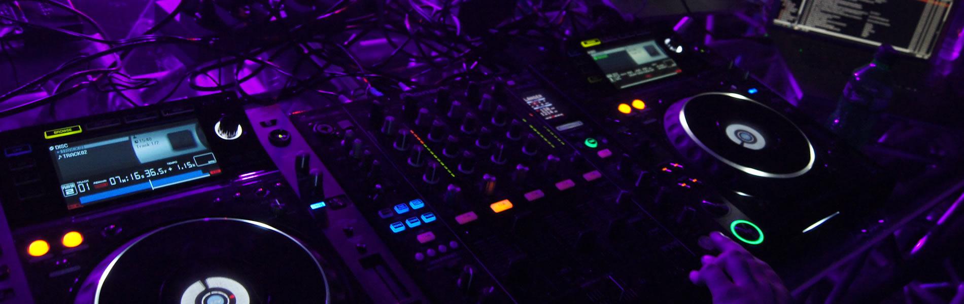 pista de baile, luz y sonido merida