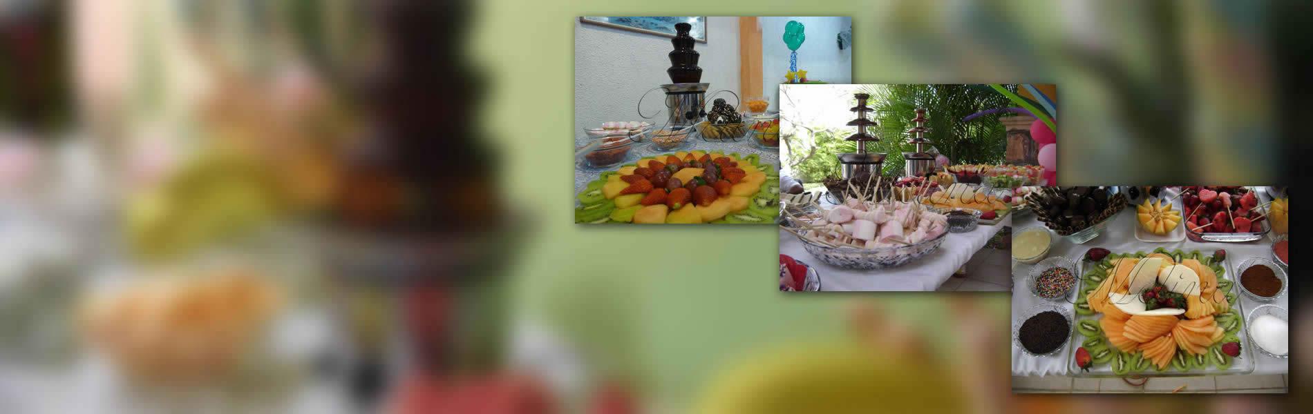 Fuente de Chocolate y Chamoy para Eventos