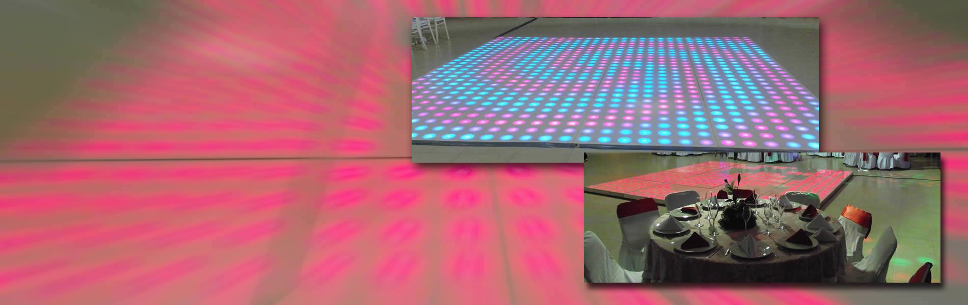 pista de baile - luz y sonido