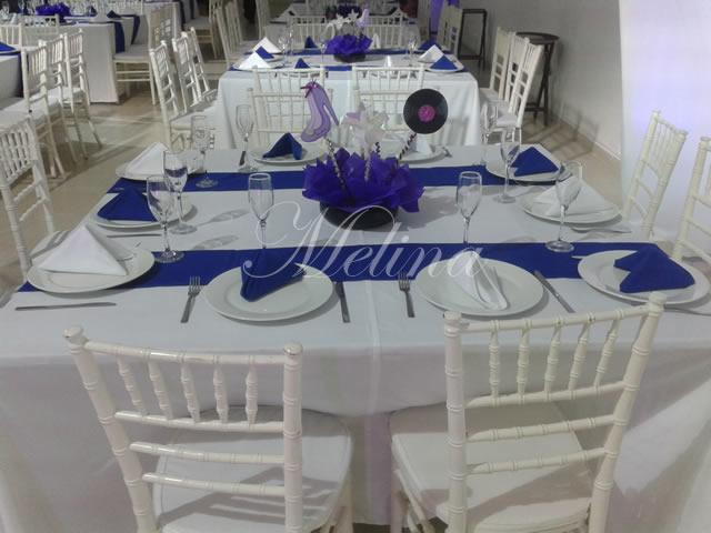 Decoración de mesas vintage en Mérida