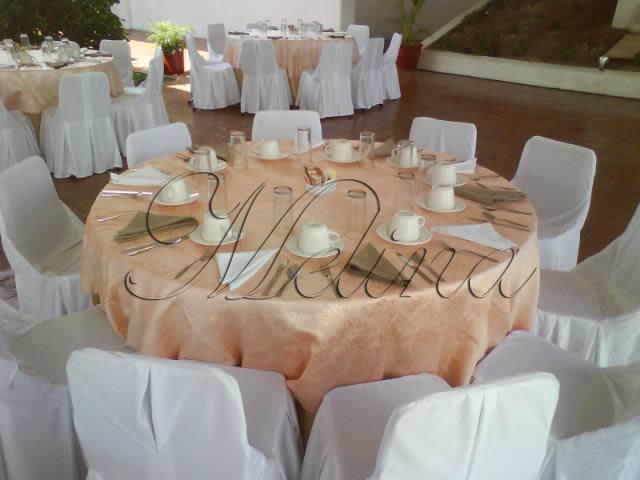 Mobiliario para bodas Mérida