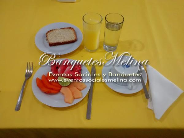Desayunos empresariales y corporativos
