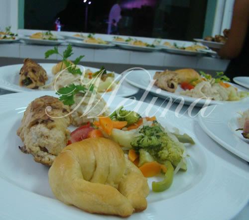 presentacion y montaje de platos en merida