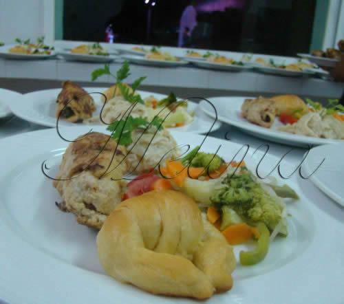presentacion de platillos gourmet