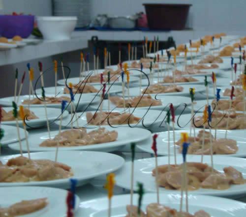 platillos para banquetes de boda